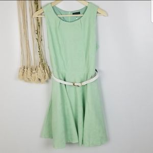 Cals Brand NWOT Sea foam green color mini length d